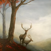 Stags of the Mist