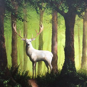 Art 'The White Stag'