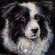 Irish Art, A Great Dog,