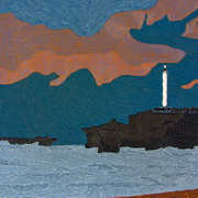 Irish Art, Lighthouse Biarittz,