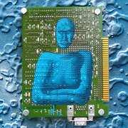 Tex, Acrylic on PCB