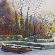 Frozen Boat - Lough Ramor
