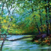 Art 'Headford River, Virginia'