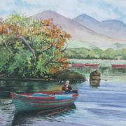 Killarney lake boatman