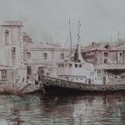 Shandon Tug. Cork City Harbor