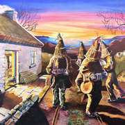 Mummers on the mountain