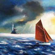 Irish Art, Sailing Around The Fastnet,