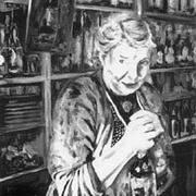 Irish art. Hannie Agnes, artist Kelly Hood, England and Kerry