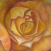 Irish Art, Golden Rose,