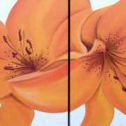 Irish Art, Tiger Lilies,