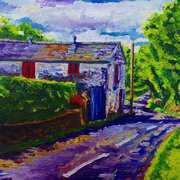 Barn on the Carnduff Road, Larne, County Antrim