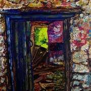 Beyond the Threshold Grove Cottage Ruin Doorway Kilcoanmore Islandmagee County Antrim