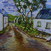 Coolanlough Clachan, Fairhead, Ballycastle, County Antrim.
