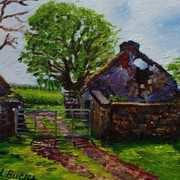 Craigfad Ruined Farm, Fairhead, County Antrim