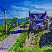 Deserted Farmhouse, Gortnagory Townland, Glencloy, County Antrim