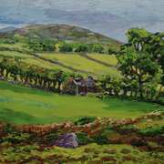 Deserted Mourne Farmhouse, Mourne Mountains, County Down