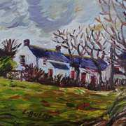 Farm on the Port Road, Cloughfin, Islandmagee, County Antrim.