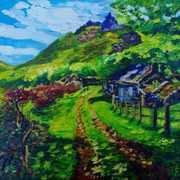First Glimpse of Galboly the Hidden Village County Antriim
