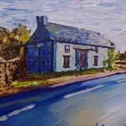 Old Buildings on the Woodburn Road, Carrickfergus, Country Antrim