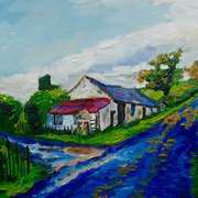 On the Quarterland Road, Ballylumford, Islandmagee, County Antrim