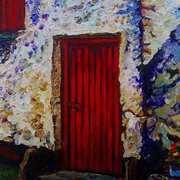 Red Barn Door, Carnduff Townland, Larne, County Antrim