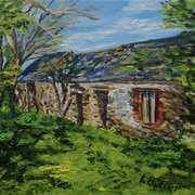 Ruined rural buildings, Ballyvennaght Townland, near Ballycastle, County Antrim