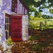 September Sunlight at Bellair Farmhouse, Glenarm, Co.Antrim.