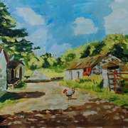 Summer at Drumnahunshin Farm, Cultra, County Down