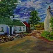 The Path to the Headland, Coolanlough Clachan, Fairhead, County Antrim.