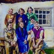 War Time Salad Days, at Denmark Cottages, Ballyharry, Islandmagee, County Antrim