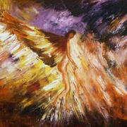 Irish art. Despair, artist Linda Carol Thompson, Louth