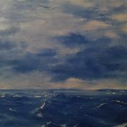 Crashing Atlantic Blue