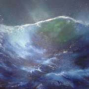 Irish Art, Night Splash,