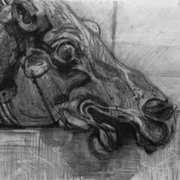 Head of a horse of Selene (British Museum)