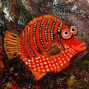 Happy Fish - Red Spectacle