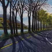 Art 'The Road to Kylemore Abbey'