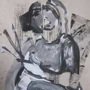 Collaged Figure