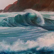 Irish Art, Breaking Wave,