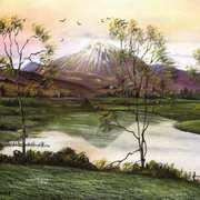Errigal Sunset