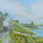 Art 'Dalkey Steam Train'