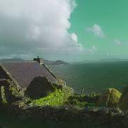 Irish art. Green Sea, artist Michael Thatcher, Offaly