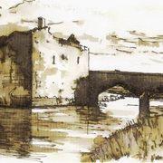Carrigadrohid Castle and Bridge, Co. Cork, Ireland