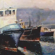 Irish Art, Doolin Ferries Galway,