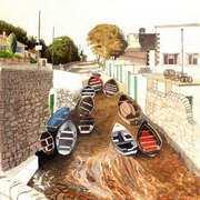 basking Boats, Bulloch Harbour, Dalkey