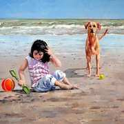 The Babysitter, Sandymount Strand