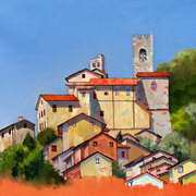 Village on the Hill, Tuscany