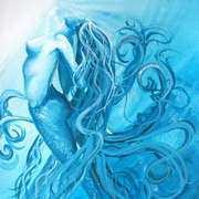 Cyan Mermaid