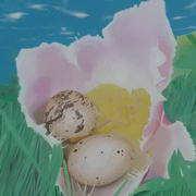 Irish art. Fresh Eggs, artist Niall Clarke, Down
