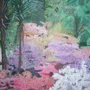 Irish art. Pretty Colours, artist Niall Clarke, Down