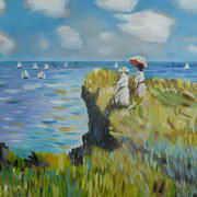 Irish art. Sea Views, artist Niall Clarke, Down